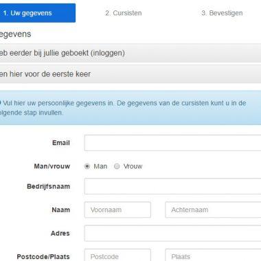 Nieuw: online inschrijven voor je zeilcursus