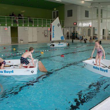 4 mei: Optimist On Tour in zwembad in Vlagtwedde